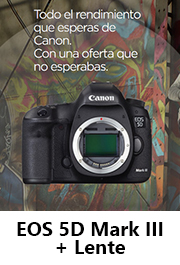 Canon EOS 5D Mark III + Optica