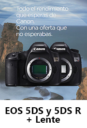 Canon EOS 5DS y EOS 5DS R + Optica
