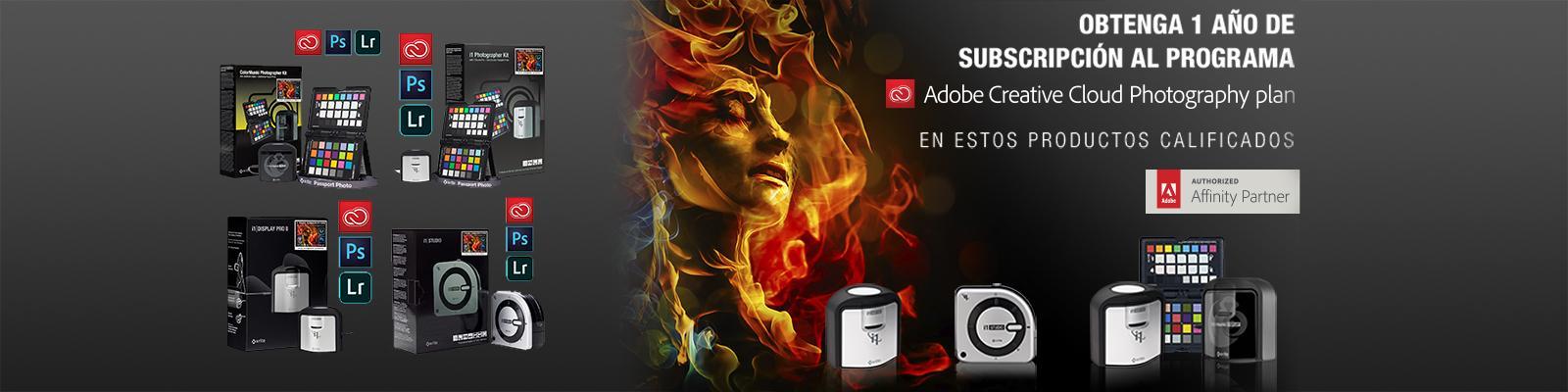 Oferta X-Rite + Adobe