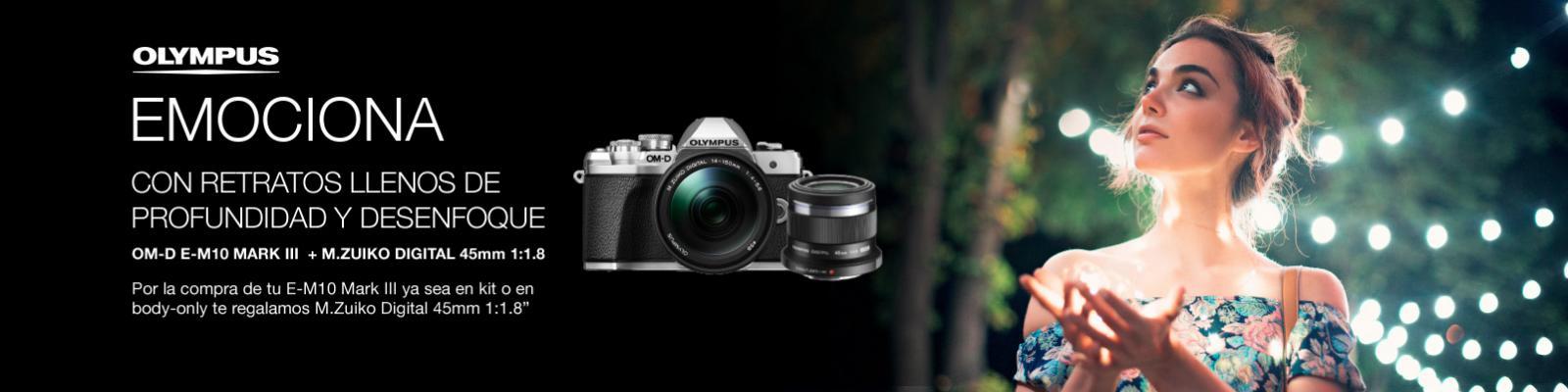 Aprovéchate de un M.Zuiko Digital 45mm f1.8 de regalo