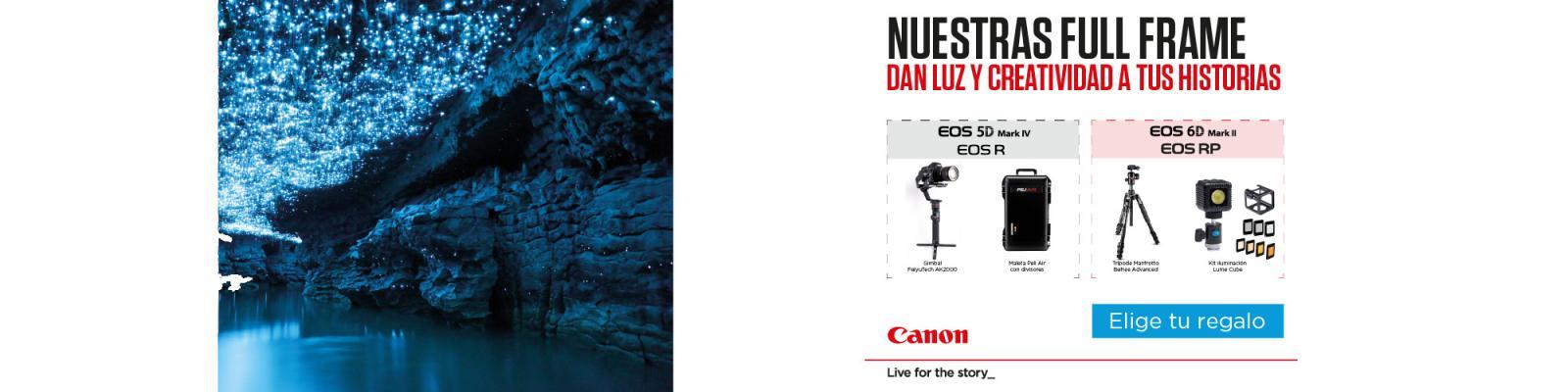 Compra Canon EOS Fullframe