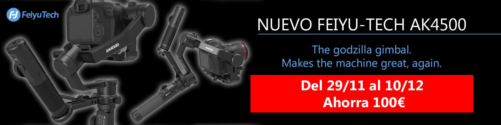 Nuevo Feiyu-Tech AK4500