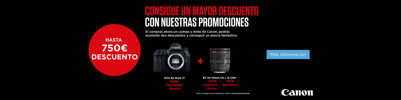 Ofetrta Canon Kit virtual