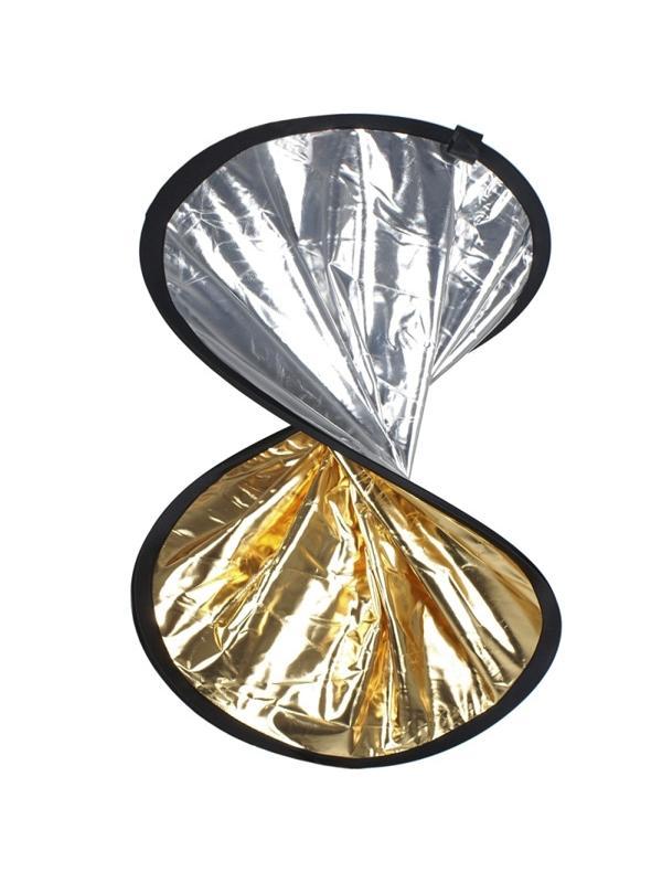 Walimex Reflector Oro/Plata 30cm Plegable -