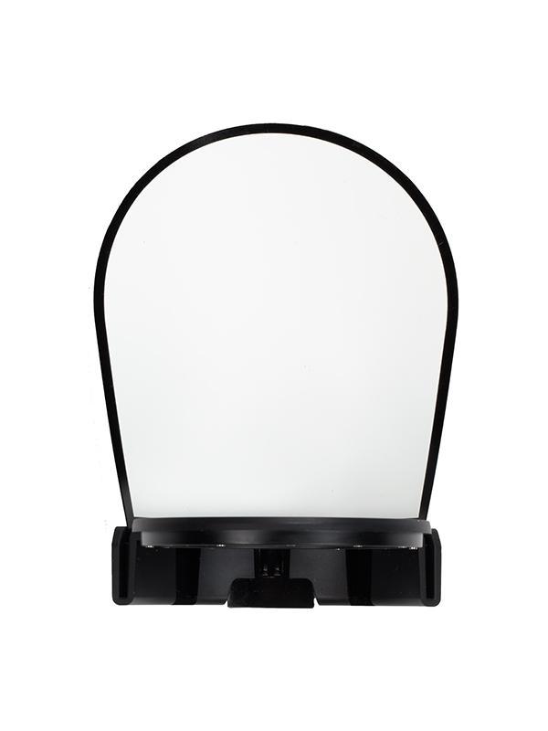 Profoto Card Bounce Para A1 Air TTL - La herramienta Bounce Card para el flash A1 integrado se usa al reflejar el flash en una superficie (como un techo) para crear una imagen general más suave y menos directa. De todas formas, es posible que debas usar una luz de relleno para el sujeto. Al usar la Bounce Card iluminarás al sujeto, asegurándote de que la iluminación será suave y direccional.