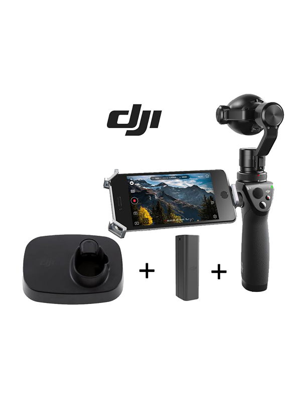 DJI Osmo+ con Base y Batería High Capacity -