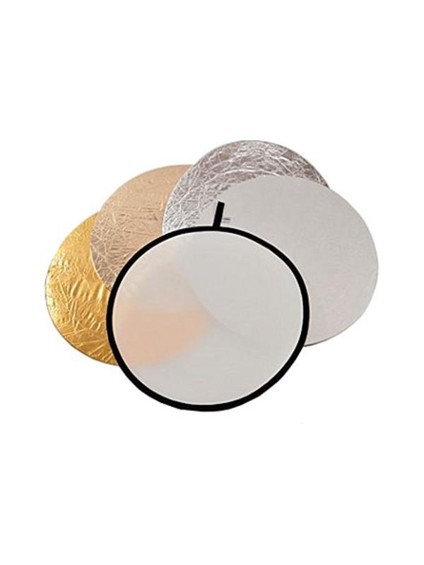 Lastolite Reflector 50cm 5 en 1 Traslúcido/Sun/Plata/Oro/Blanco -