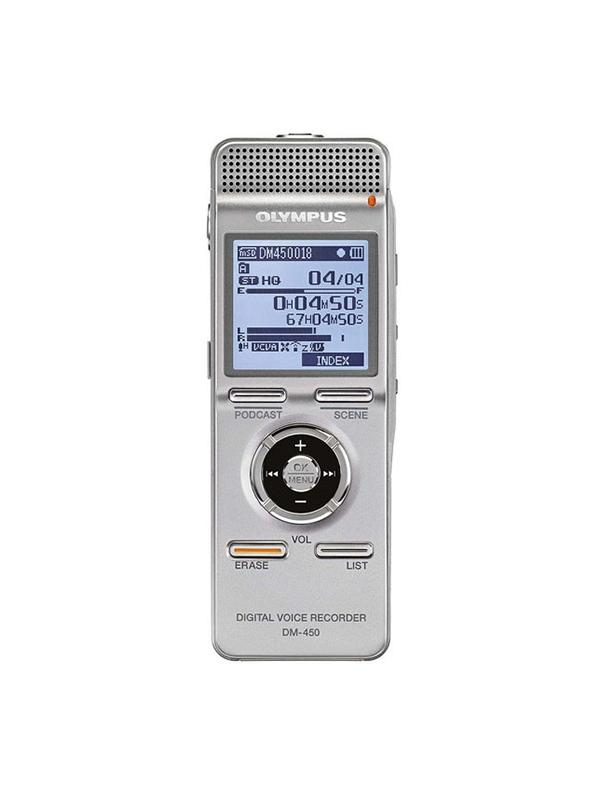 Olympus Grabadora Audio Digital DM-450-E1-SLV -