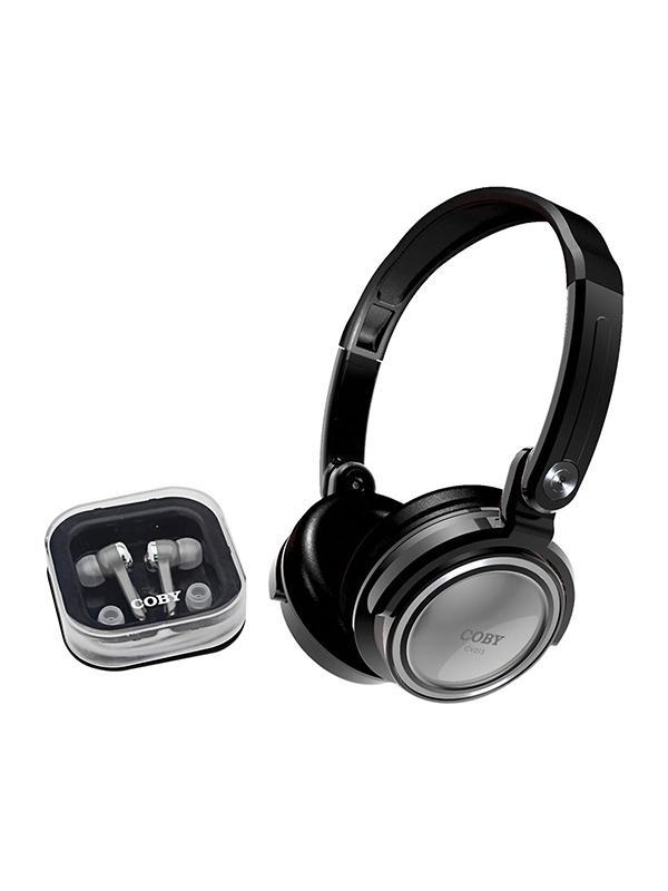 Coby Auricular CV215 Combo Silver -