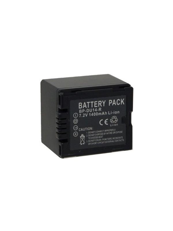 DTI Batería Panasonic DU14 Vídeo -