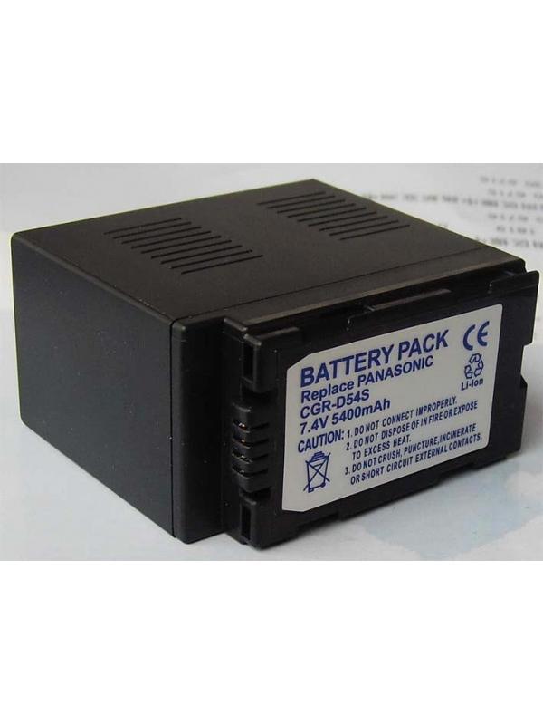 DTI Batería Panasonic D54S Vídeo -