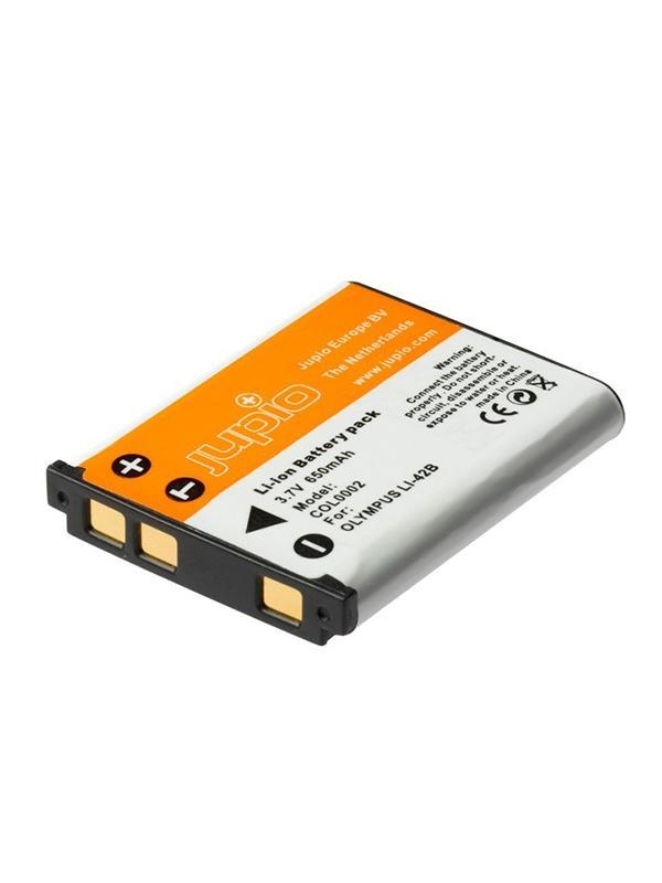 Jupio Batería Olympus Li40B/Li42B/NP45/EN-EL10, 650mAh -