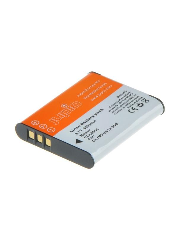 Jupio Batería Olympus Li50B/D-Li92/NP150/LB050, 850mAh -