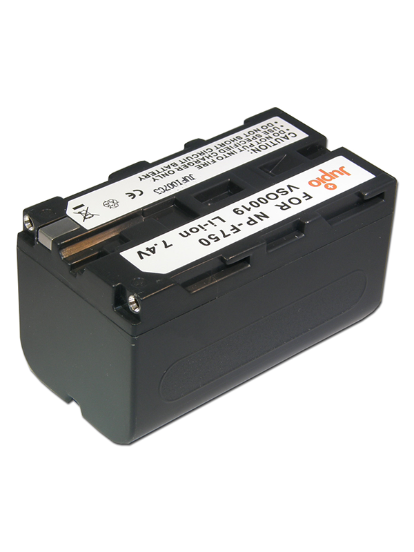 Jupio Batería Sony NP-F750, 4000mAh -