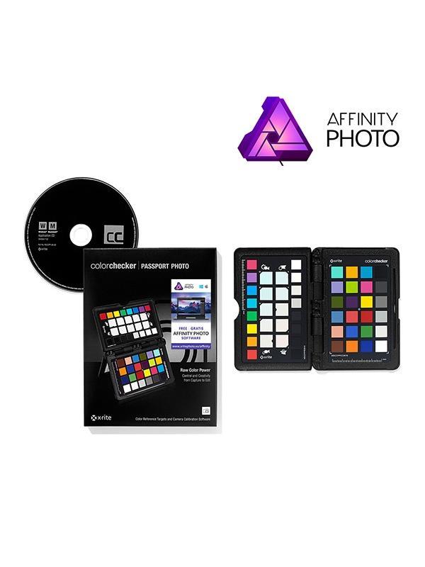X-Rite Kit Affinity (ColorChecker + Affinity) - Ahorra los 54,99€ del magnífico Affinity Photo por la compra de éste Pack.
