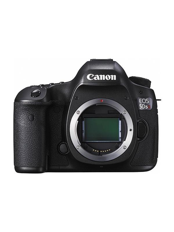Canon Cámara EOS 5DSR Cuerpo - Canon EOS 5DS R con sensor CMOS 50,6 Megapixeles y procesador DIGIC 6. Diseñada para lograr la calidad de imagen réflex digital definitiva, con una resolución de 50,6 megapíxeles y un filtro de cancelación de paso bajo que maximiza la nitidez del sensor de la cámara.
