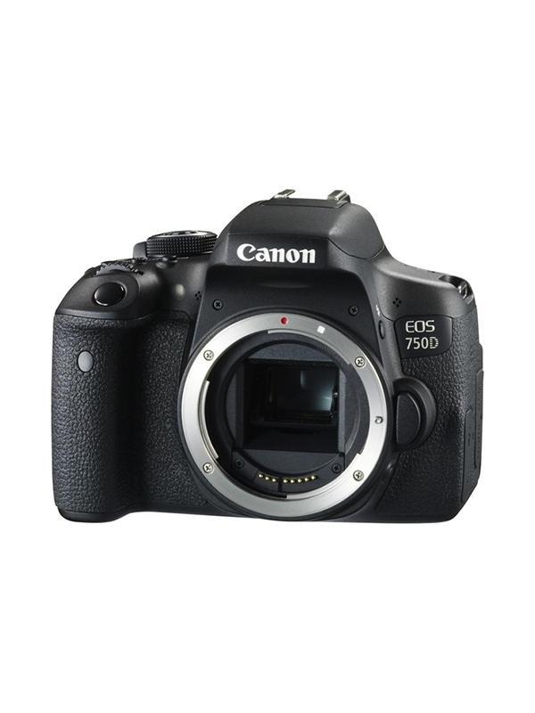 Canon Cámara EOS 750D Cuerpo - Canon EOS 750D con sensor CMOS 24,2 Megapixeles y procesador DIGIC 6