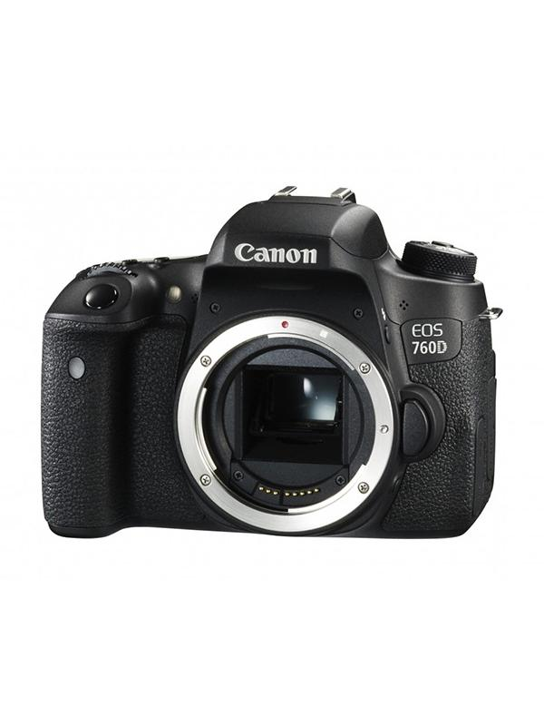 Canon Cámara EOS 760D Cuerpo - Canon EOS 760D con sensor CMOS 24,2 Megapixeles y procesador DIGIC 6