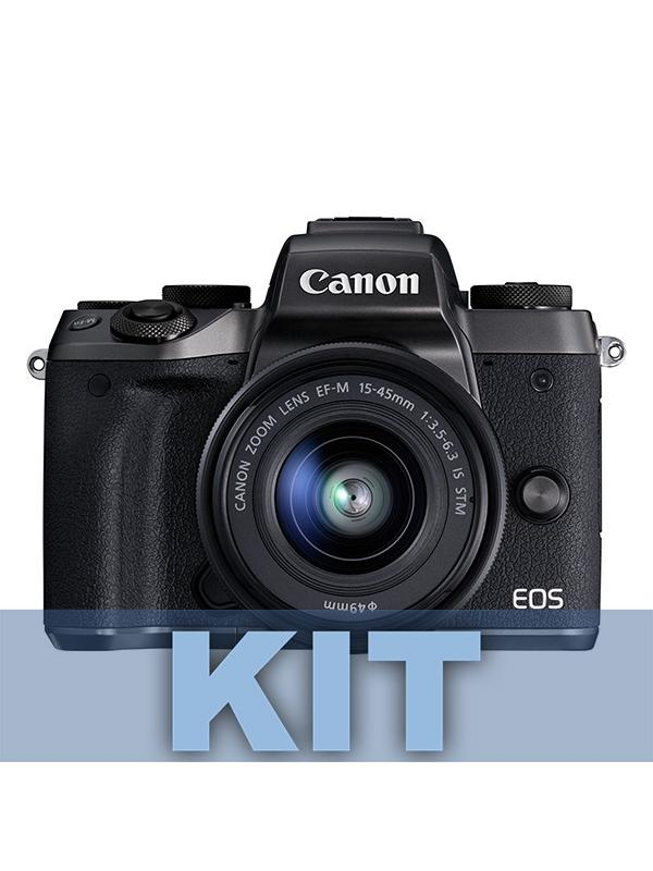 Canon Cámara EOS M5 + EF-M 15-45mm IS STM -