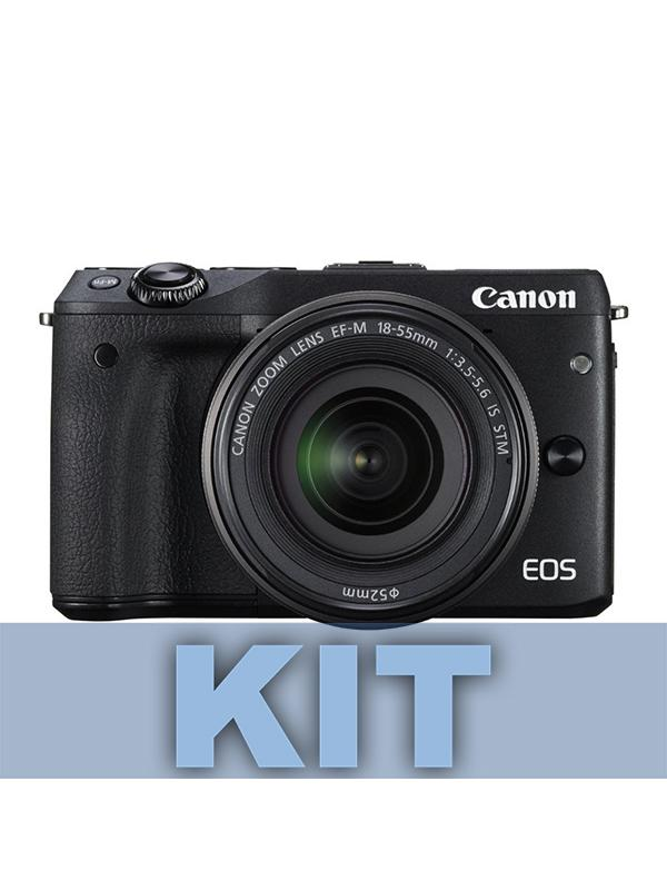 Canon Cámara EOS M6 + EF-M 15-45mm IS STM Negra -
