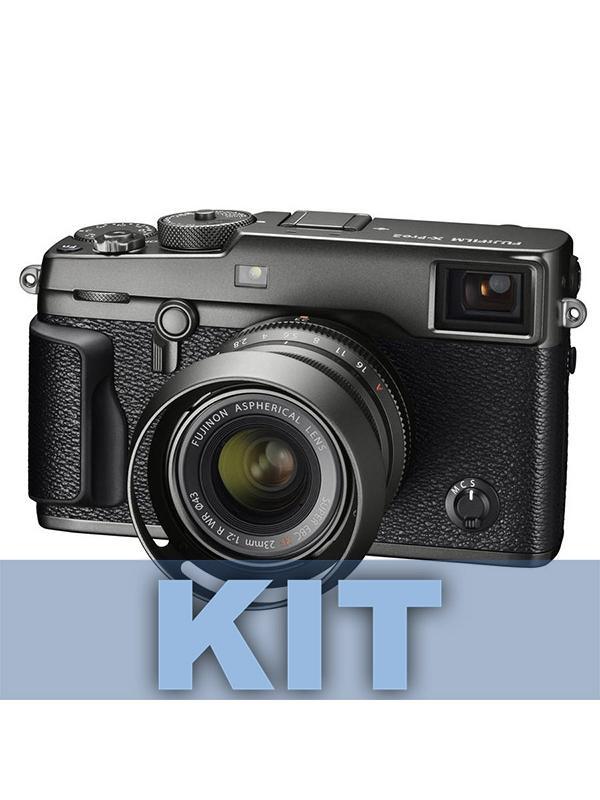Fuji Cámara X-Pro 2 Graphite + XF23mm f2 R WR Graphire -