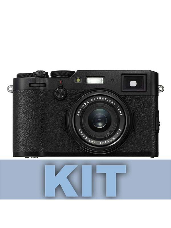 Fuji Cámara X100F Negra 24MP + XF 23mm (equivalente 35mm) -