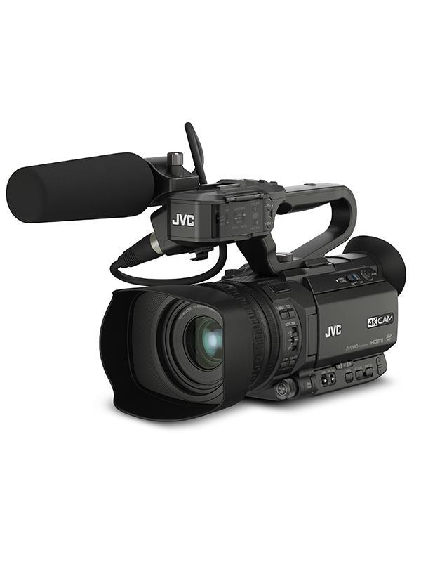 JVC Videocámara GY-HM200 4K Ultra HD FTP / Streaming 2.3