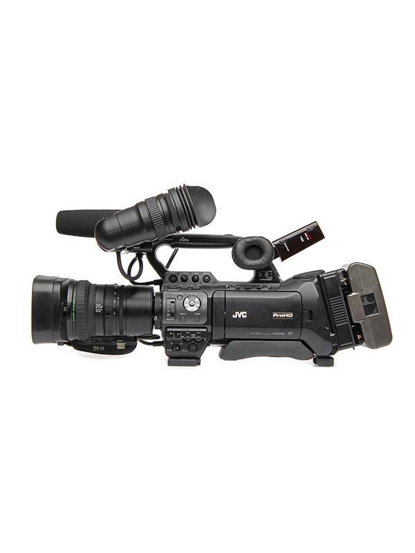 JVC Videocámara GY-HM850E Fujinon Zoom 20x -