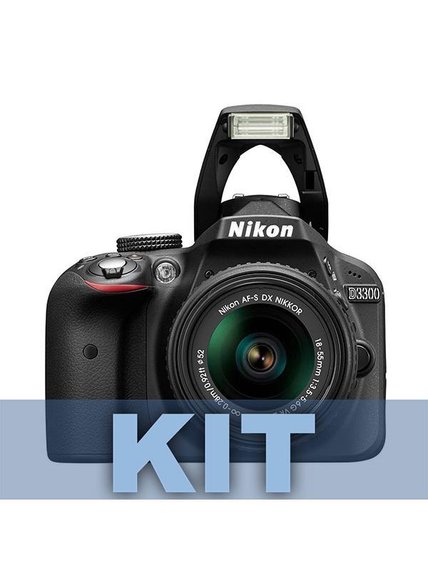 Nikon Cámara D3300 + AFP 18-55mm + 55-200mm VR + Mochila + Chaleco - Capture la auténtica atmósfera de los momentos importantes con la D3300.  Esta pequeña y ligera cámara DSLR de 24,2 megapíxeles representa una manera fantástica de capturar fotos y vídeos inolvidables de alta resolución; además, es potente, fácil de transportar e increíblemente sencilla de usar.  El gran sensor de imagen captura los detalles más sutiles con una nitidez asombrosa, y su rendimiento superior en condiciones de poca iluminación (sensibilidad ISO de hasta 12 800) le proporciona la libertad necesaria para capturar imágenes de claridad cristalina en situaciones de oscuridad.  Si no tiene experiencia en la fotografía DSLR o si desea obtener más información, el Modo Guía le ofrece asistencia paso a paso. Cuando esté listo para compartir sus imágenes, el Adaptador móvil inalámbrico opcional de Nikon le permitirá cargar fotos a sus sitios favoritos con facilidad mediante un dispositivo inteligente.  Incluye 2 objetivos AFP 18-55mm y 55-200mm VR. Incluye también Mochila y Chaleco.