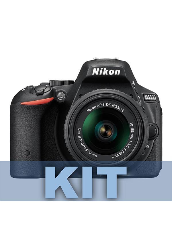 Nikon Cámara D5500 + 18-140mm G ED VR -
