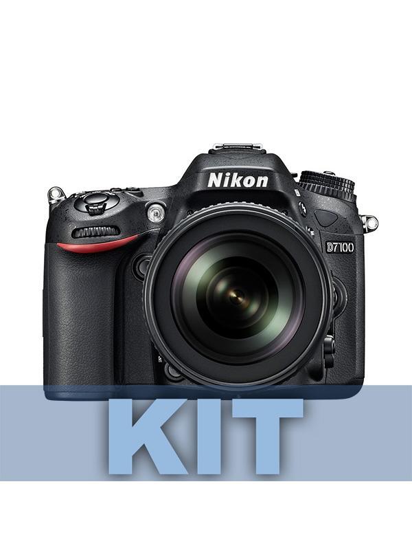 Nikon Camara D7100 + AFS DX 18-140mm ED VR - Un kit de objetivo integral. Incluye el cuerpo de la cámara D7100 y el potente objetivo AFS DX 18-140mm ED VR (incluído). Increíblemente ligera y compacta para un cuerpo que integra múltiples funciones y de extraordinaria durabilidad, ofrece un extraordinario rendimiento DX para que evolucione en el campo de la fotografía. Al no emplear ningún filtro de paso bajo óptico (OLPF), la D7100 saca el máximo provecho de su sensor CMOS de formato DX de 24,1 megapíxeles para capturar con definición incluso las texturas más sutiles en una alta resolución nítida. El sistema de autofoco (AF) de 51 puntos le ofrece una captura de imágenes rápida y de extrema precisión de nivel profesional. Esta cámara D-SLR de alta gama, que es resistente a las caídas y a las inclemencias meteorológicas cuenta con tapas superior y posterior de aleación de magnesio, ofrece un disparo continuo a 6 fps y un efecto de teleobjetivo adicional con una innovadora función de recorte de 1,3 aumentos, además, cuenta con una sensibilidad ISO de 100-6400, lo que permite obtener unos resultados extraordinarios en entornos poco iluminados o al capturar la acción en rápido movimiento.  Dispare con el visor o con el modo Live View, aplique efectos especiales en tiempo real a fotografías o vídeos de máxima definición (Full HD) y envíe imágenes de forma inalámbrica* a su dispositivo inteligente para compartirlas en las redes sociales; vaya donde vaya y haga lo que haga, la D7100 le otorga un control excepcional.