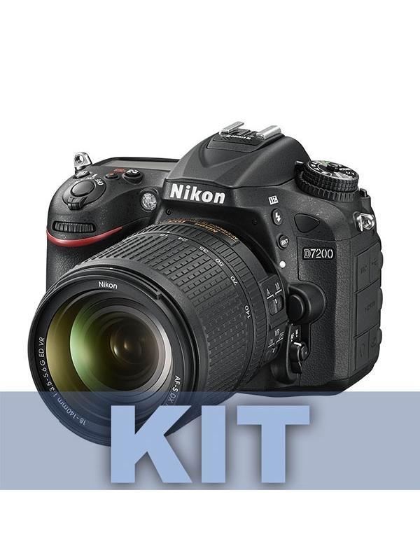 Nikon Cámara D7200 + AFS DX 18-105mm ED VR -