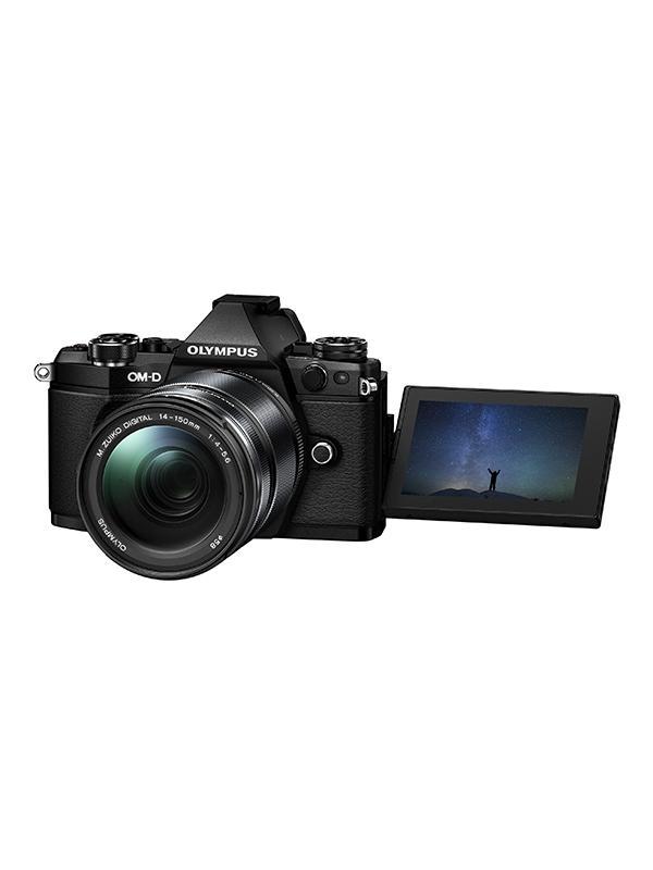 Olympus Cámara OM-D E-M5 Mark II+12-40mm f2.8 Pro + Empuñadura + Batería - E-M5 Mark II: Adiós a las imágenes borrosas. Imágenes perfectas con la estabilización de imagen más potente del mercado. Fotos y vídeos nítidos incluso con poca luz y sin trípode. La estabilización en 5 ejes VCM compensa todo tipo de movimiento de la cámara. Incluso permite ofrecer una imagen óptima en el visor para mayor estabilidad en el encuadre. Incluye objetivo 12-40mm f2.8 Pro, una batería adicional y una empuñadura.