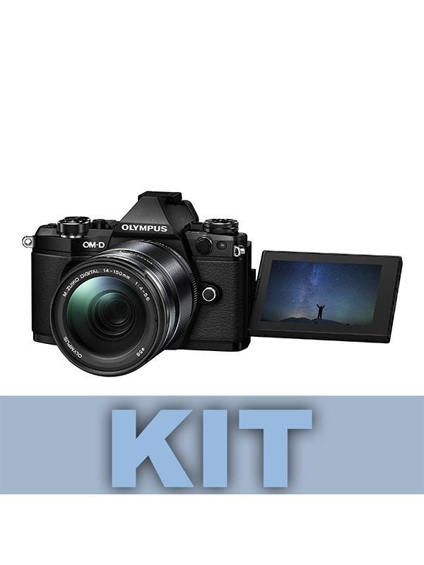 Olympus Cámara OM-D E-M5 Mark II + 12-40mm Pro f2.8 Negro - E-M5 Mark II: Adiós a las imágenes borrosas. Imágenes perfectas con la estabilización de imagen más potente del mercado. Fotos y vídeos nítidos incluso con poca luz y sin trípode. La estabilización en 5 ejes VCM compensa todo tipo de movimiento de la cámara. Incluso permite ofrecer una imagen óptima en el visor para mayor estabilidad en el encuadre. Incluye objetivo 12-40mm Pro f2.8.