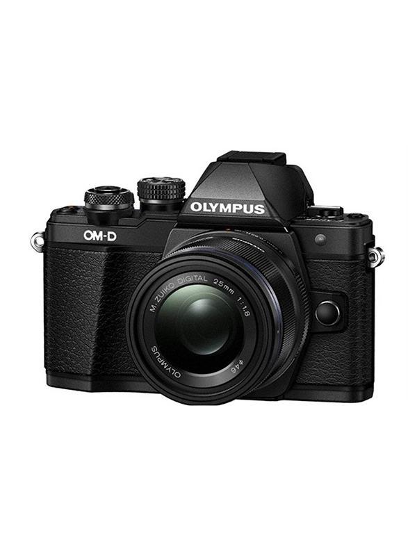Olympus Cámara OM-D E-M10 Mark II + 14-42mm II R Negra