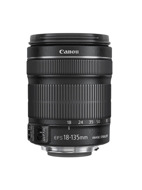 Canon Objetivo EF-S Zoom  18-135mm f3.5-5.6 IS STM -