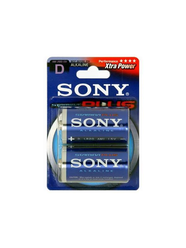 Sony Pila AM1B2A LR20-D 1.5v Blister 2 Alcalina -