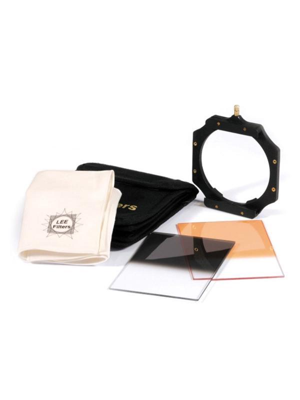 Lee Kit Digital SLR Starter (Portafiltros + 2 Filtros + Gamuza + Bolsa) -