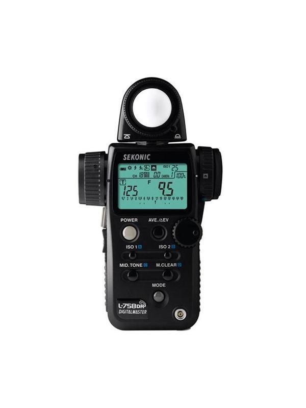 Sekonic Fotometro L-758DR Digital Master Radio -