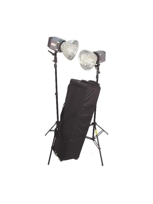 Quartz Imager Kit de 2 Focos 750W + 2 Pies + Troller -