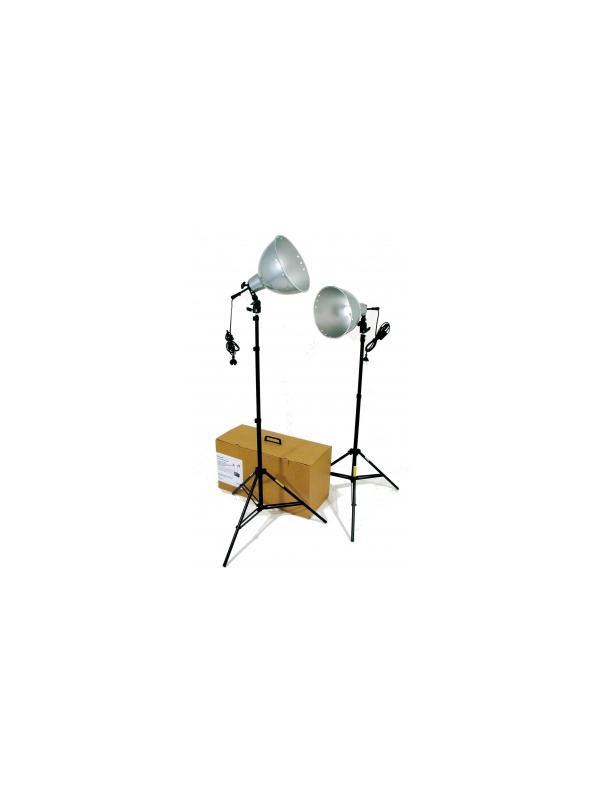 Cromalite Kit de 2 Focos Luz Continua Q26 -