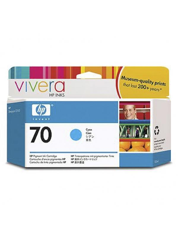 HP Tinta 70 C9452A Cian 130ml Z2100
