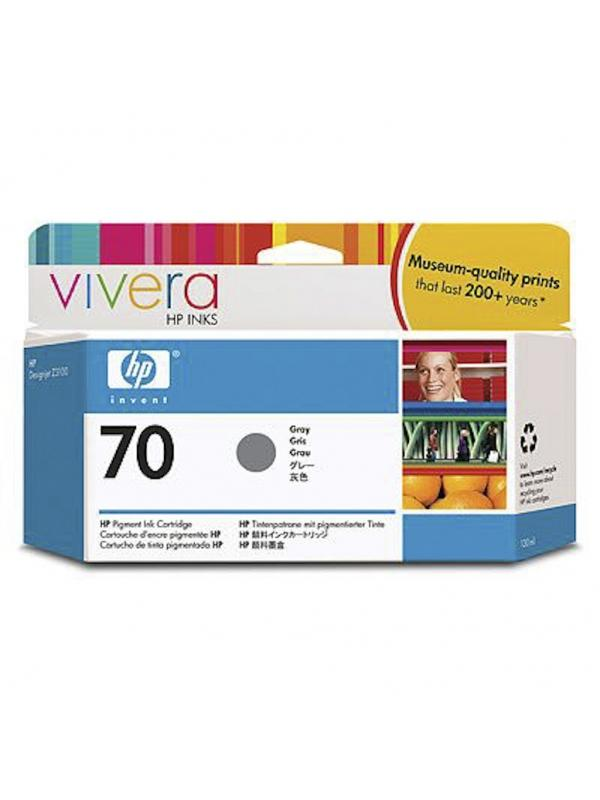 HP Tinta 70 C9450A Gris 130ml Z3100/3200 -