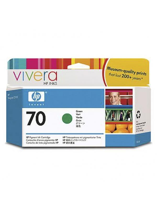 HP Tinta 70 C9457A Verde 130ml Z3100/3200 -