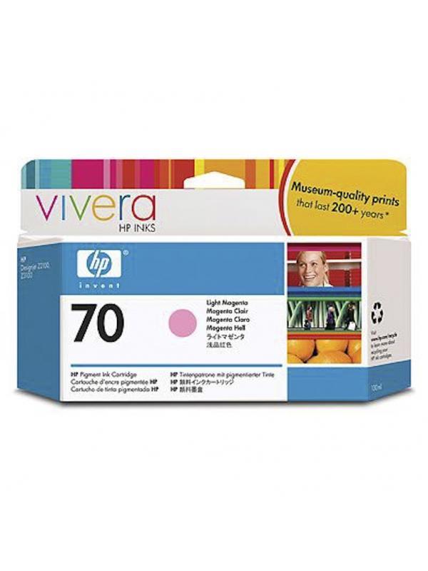 HP Tinta 70 C9455A Magenta Claro130ml Z2100/3100/3200 -