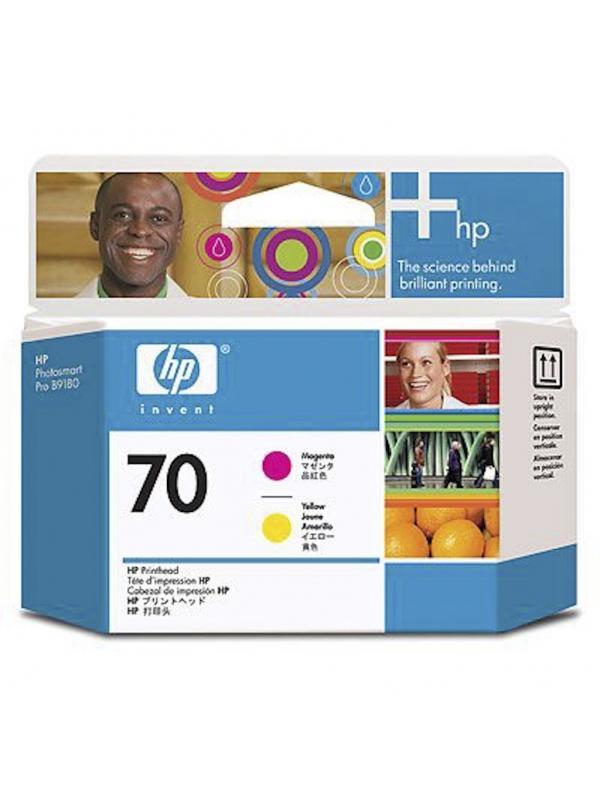 HP Cabezal 70 C9406A Magenta-Amarillo