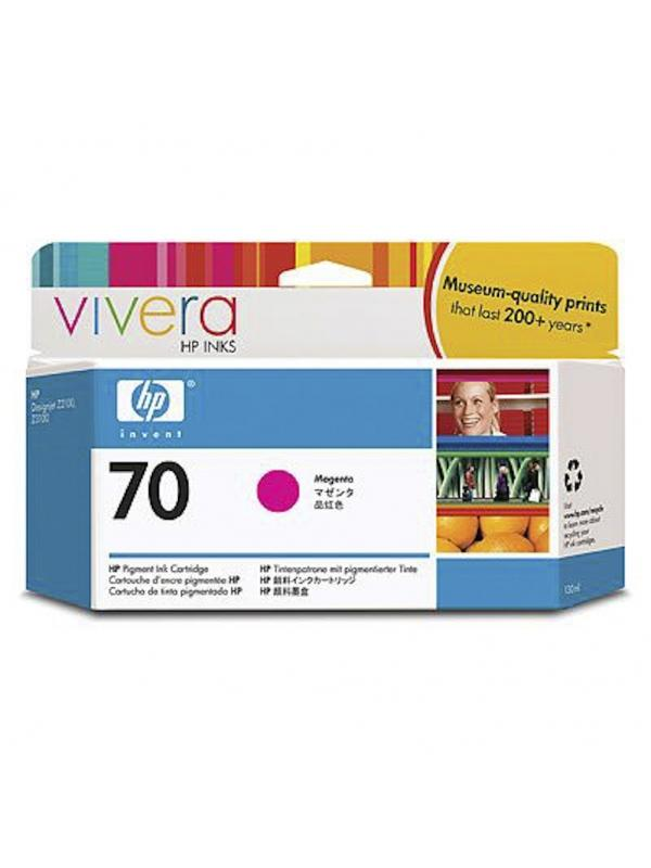 HP Tinta 70 C9453A Magenta 130ml Z2100/3100/3200 -