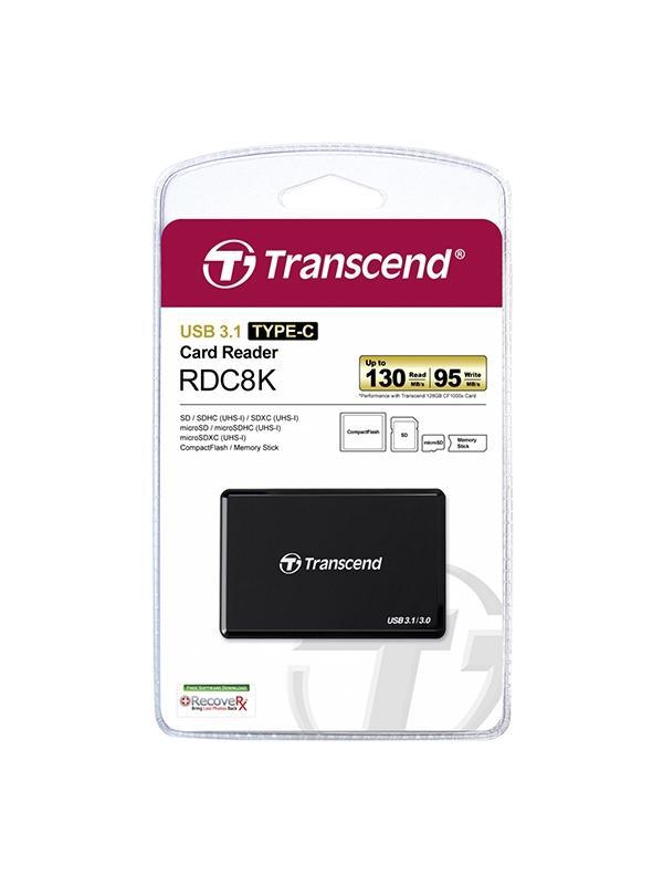 Transcend Lector TS-RDC8K Type-C USB 3.1 -