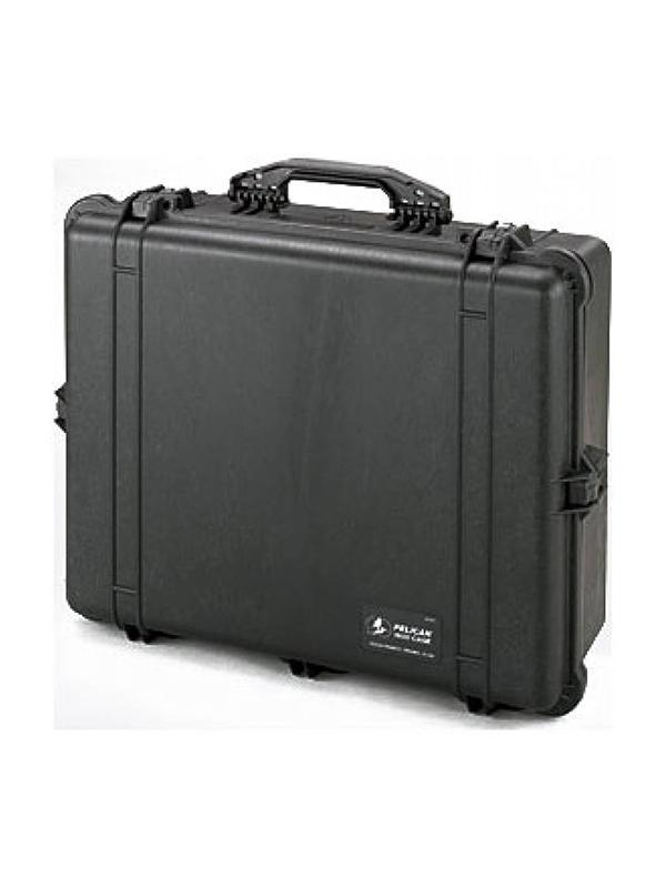 Peli Maleta 1600 con Foam 61.6x49.4x22cm Negra -