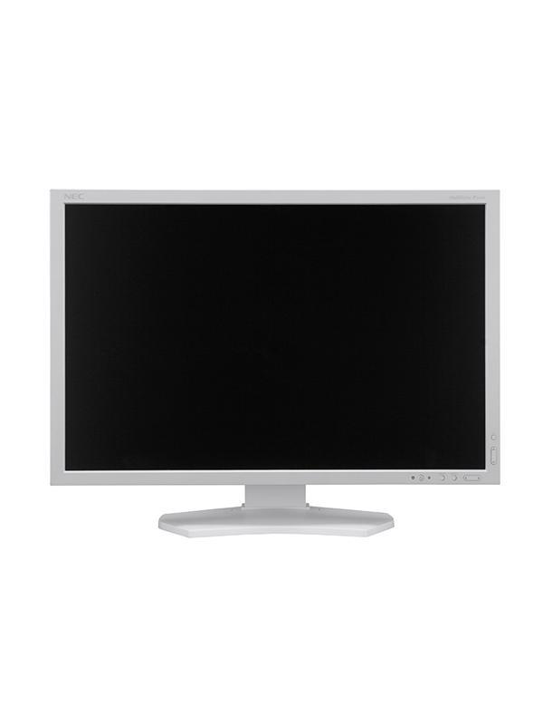 NEC Monitor 24 MultiSync P242W White